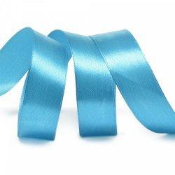 """Атласная лента """"Небесно- голубой"""" 2,5 см"""