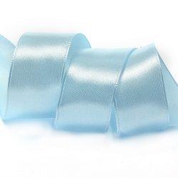 "Атласная лента ""Голубой"" 2,5 см"